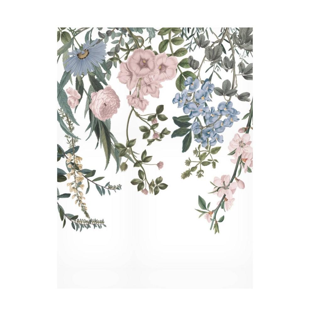 35 34 X 47 34 Wild Apple Portfolio 39 Hanging Floral I 39 Unframed Wall Canvas Trademark Fine Art