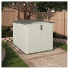 Resin Glidetop Storage Shed Soft Taupe - Suncast - image 2 of 3