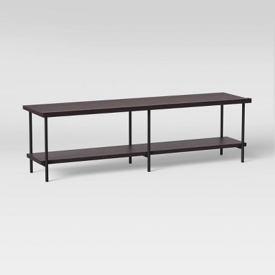 "60"" Wood and Metal TV Stand - Room Essentials™"