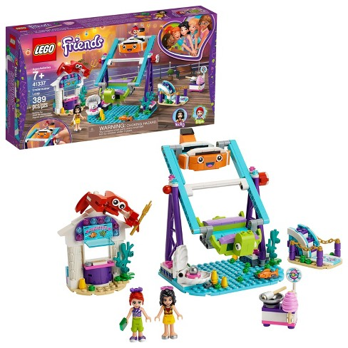 LEGO Friends Underwater Loop 41337 Amusement Park Building Kit with Mini Dolls for Group Play 389pc - image 1 of 4