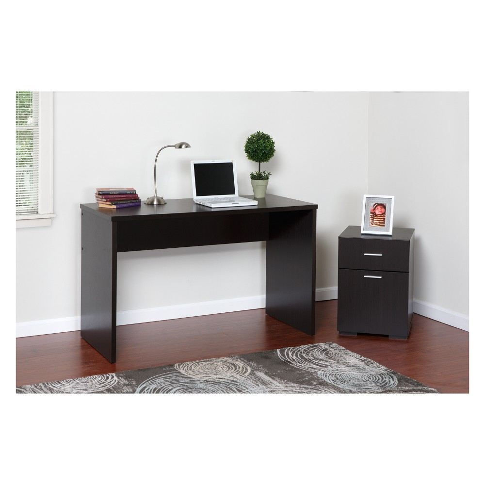 Image of 2 Drawer Cabinet Espresso - OneSpace