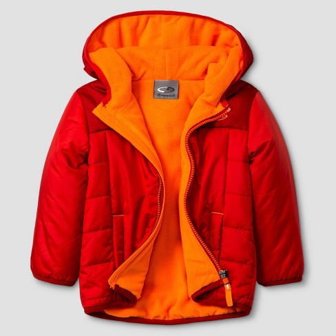Baby Boys' Puffer Jacket C9 Champion® - Red 12M - image 1 of 1