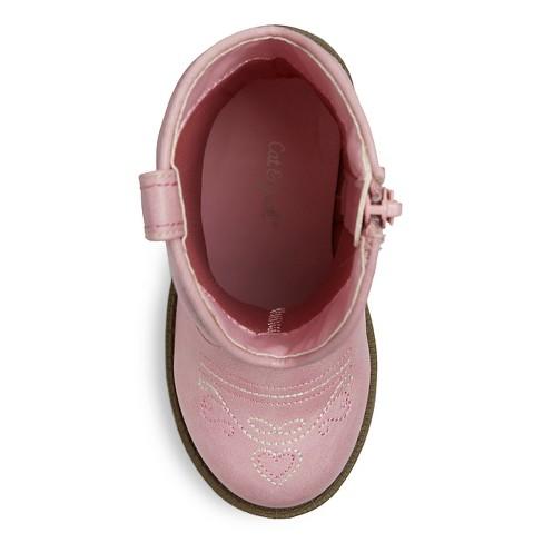 0dca6510088 Toddler Girls  Chloe Classic Cowboy Western Boots - Cat   Jack™ Pink 8    Target