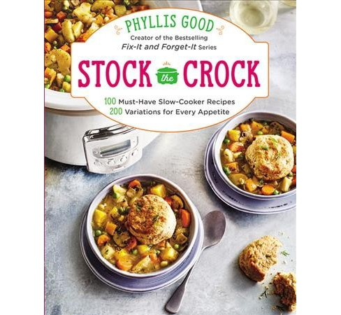 Stock the Crock : 100 Must-Have Slow-Cooker Recipes, 200 Variations for Every Appetite -  (Paperback) - image 1 of 1