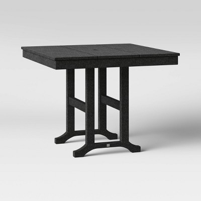 """Moore POLYWOOD 35"""" Farmhouse Square Patio Dining Table - Project 62™"""