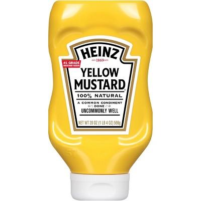 Heinz Yellow Mustard - 20oz