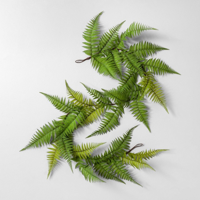 """72"""" Faux Fern Garland - Hearth & Hand™ with Magnolia - image 1 of 1"""