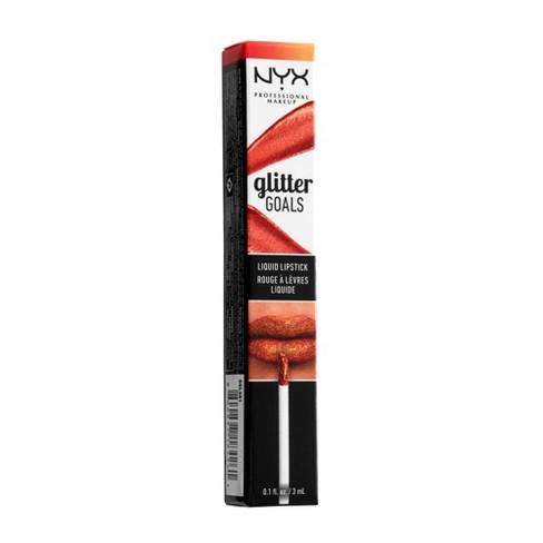 NYX Professional Makeup Glitter Goals Liquid Lipstick Shimmy - image 1 of 4