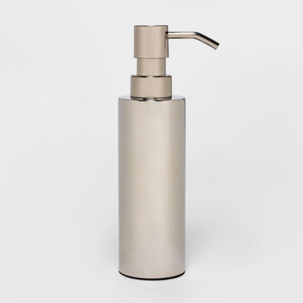 Image of Brushed Stainless Steel Soap Dispenser - Threshold