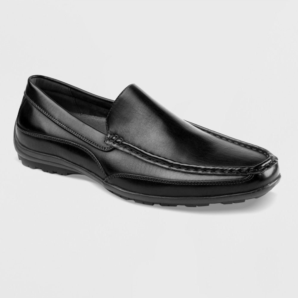 Men's Deer Stags Drive Slip-on Moc Loafers - Black 10