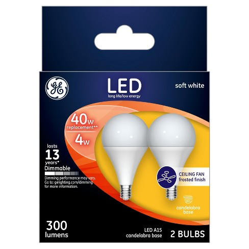 General Electric - LED - 40W - 2pk - Soft White - image 1 of 2