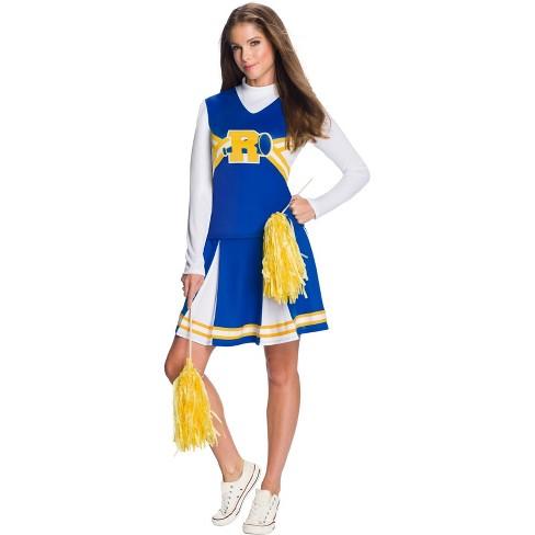Riverdale Womens Vixens Cheerleader Halloween Costume Rubies