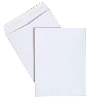 "MyOfficeInnovations Gummed Catalog Envelopes 9""L x 12""H White 250/Box (486949R)"