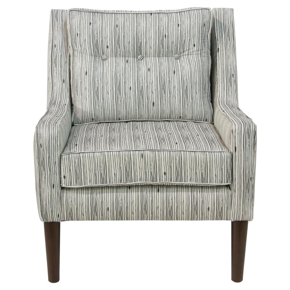 Shyba Button Arm Chair Skyline Furniture