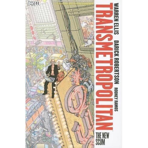 Transmetropolitan Vol. 4: The New Scum - (Transmetropolitan - Revised) by  Warren Ellis (Paperback) - image 1 of 1