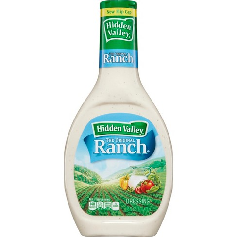Hidden Valley Original Ranch Salad Dressing & Topping - Gluten Free - 16oz Bottle - image 1 of 7