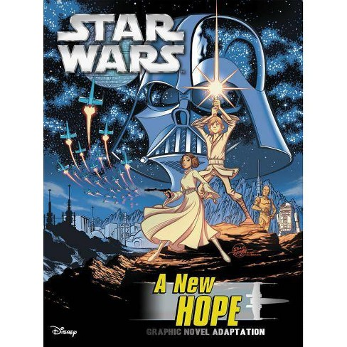 Star Wars: A New Hope Graphic Novel Adaptation - by  Alessandro Ferrari (Paperback) - image 1 of 1
