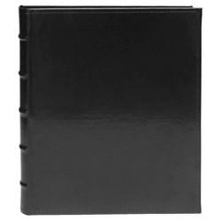 Magnetic Faux Leather Black Photo Album - 20 Pages