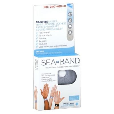 Seaband Nausea Relief Acupressure Wristbands - 1pr
