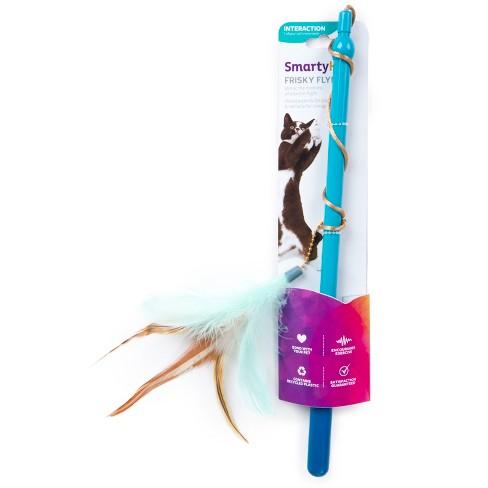 SmartyKat Frisky Flyer Cat Toy - Blue - image 1 of 8