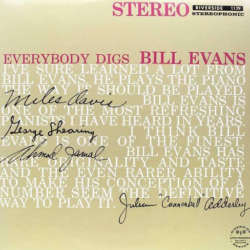 Bill Evans - Everybody Digs Bill Evans (Vinyl) - image 1 of 1