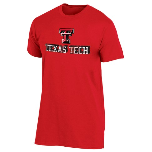 Texas Tech Red Raiders Men's Short Sleeve Keep the Lights On Bi-Blend Gray Heathered T-Shirt - image 1 of 2