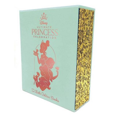 Ultimate Princess Boxed Set of 12 Little Golden Books (Disney Princess) - by  Various (Mixed Media Product)