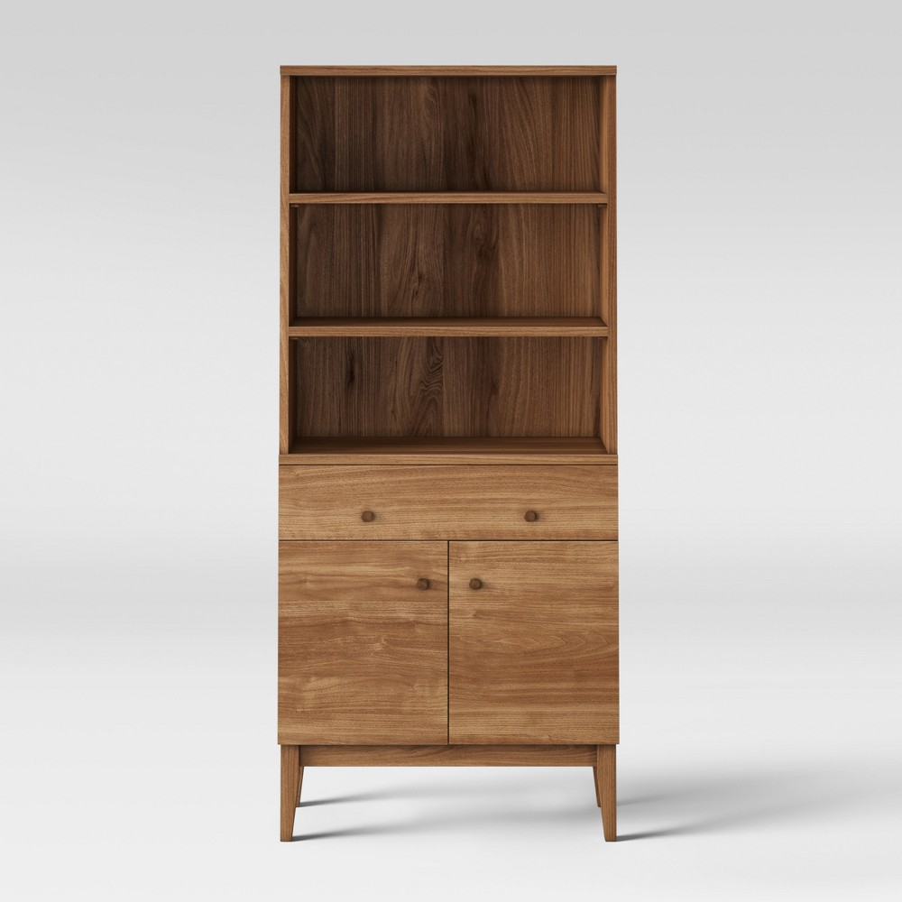 62 Siegel Bookcase with Doors - Project 62