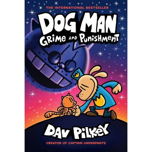 Dog Man #9 Grime and Punishment - by Dav Pilkey (Hardcover) - image 1 of 1