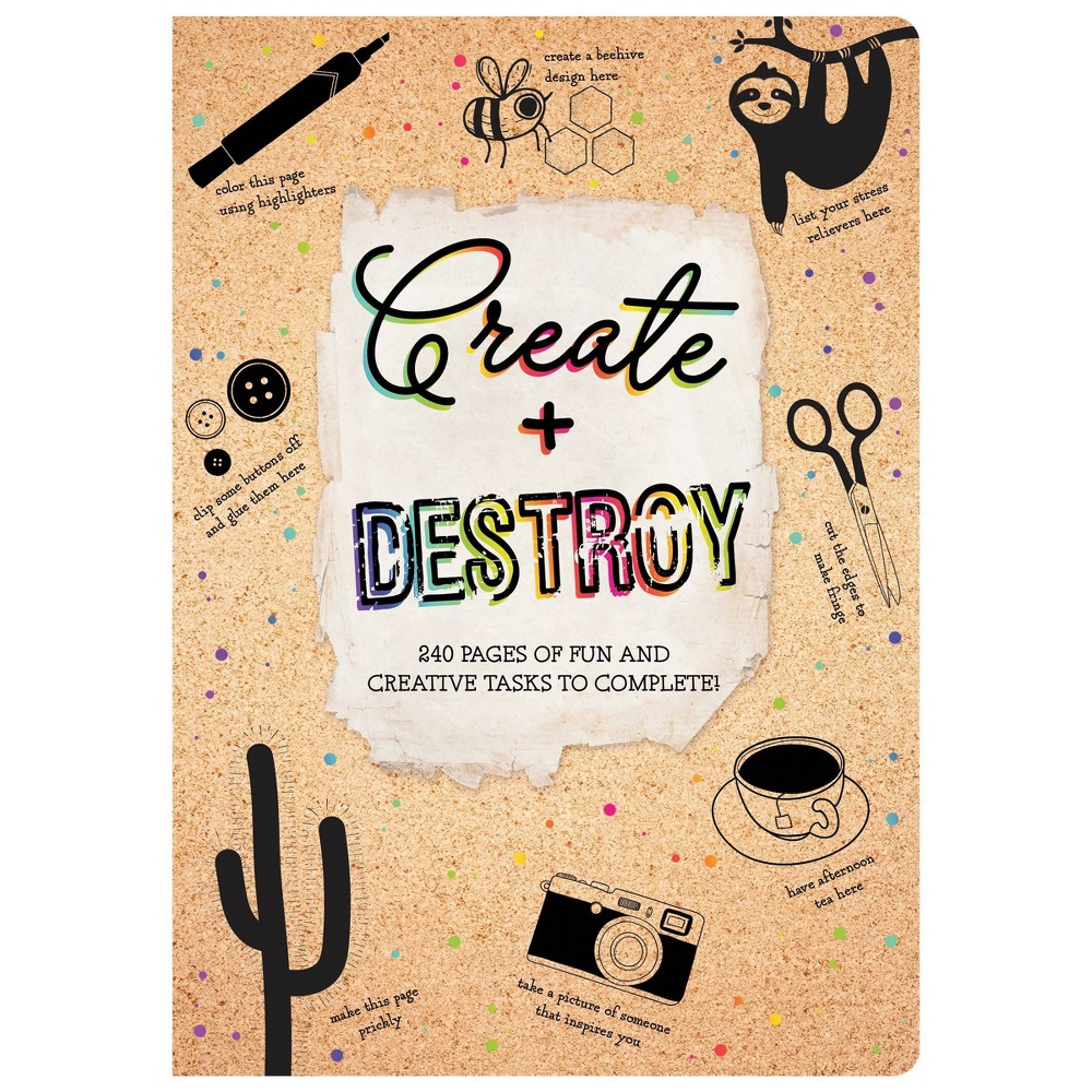 Create 38 Destroy Activity Book Piccadilly