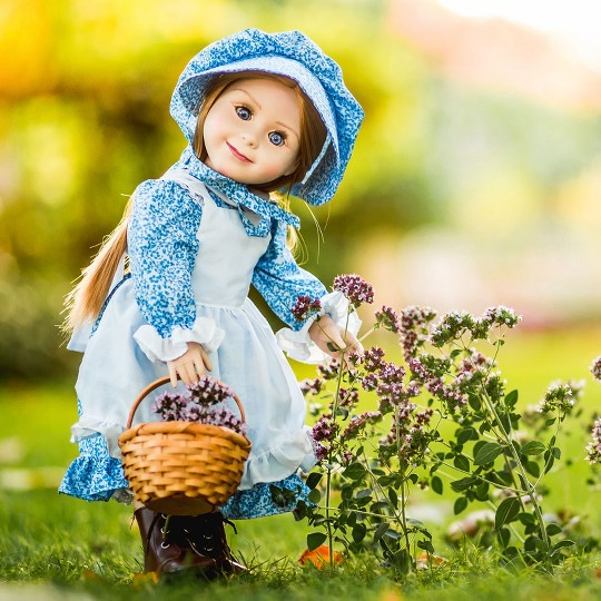 """Little House on the Prairie 18"""" Mary Ingalls Doll and School Accessories image number null"""