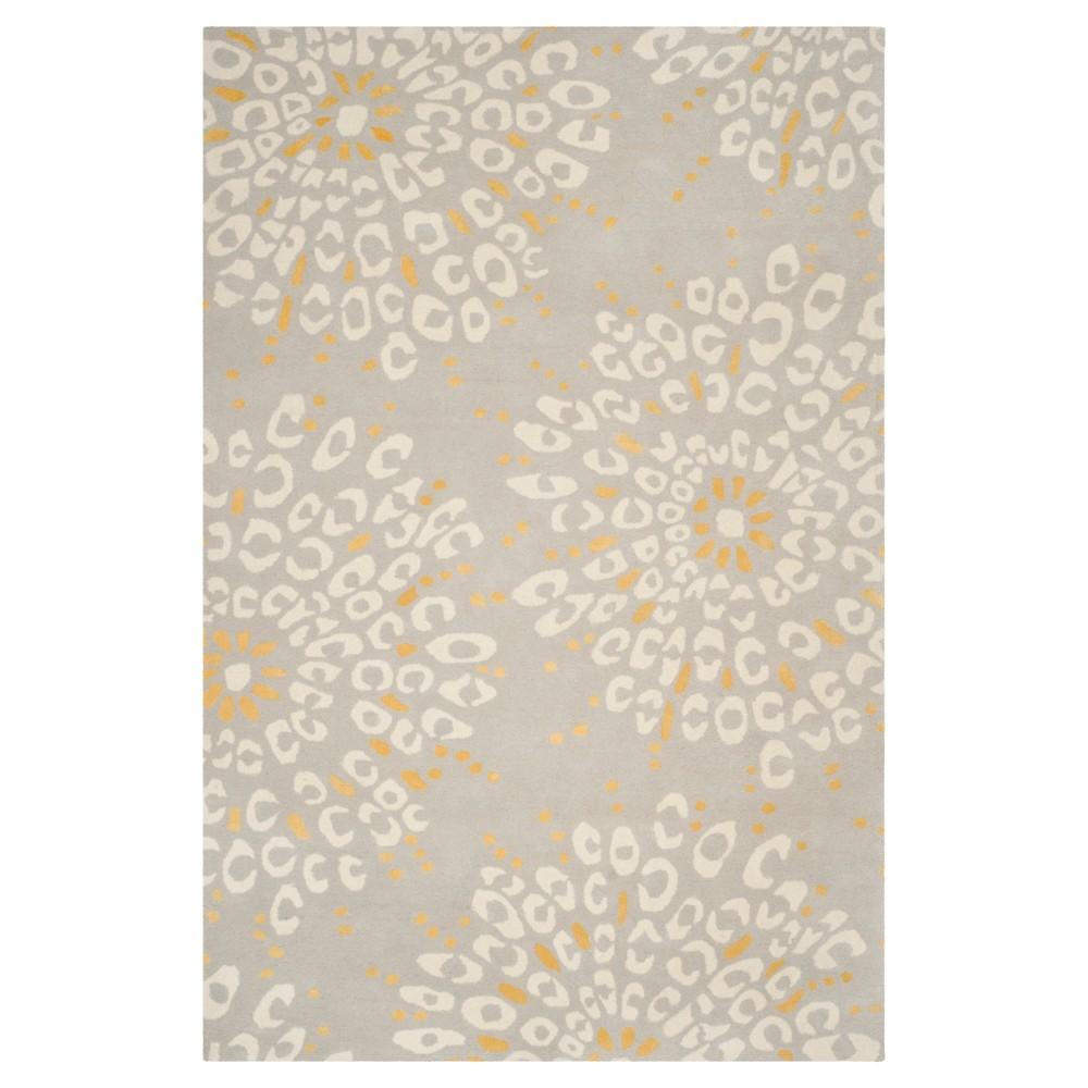 Denver Area Rug - Gray/Ivory (4'x6') - Safavieh, White Gray