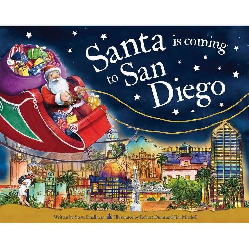 Santa Is Coming to San Diego - (Santa Is Coming...) 2 Edition by  Steve Smallman (Hardcover) - image 1 of 1