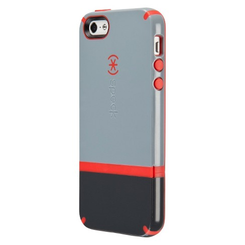 Speck CandyShell Flip Case for iPhone® 5 - Nickel/Slate/Poppy - image 1 of 3