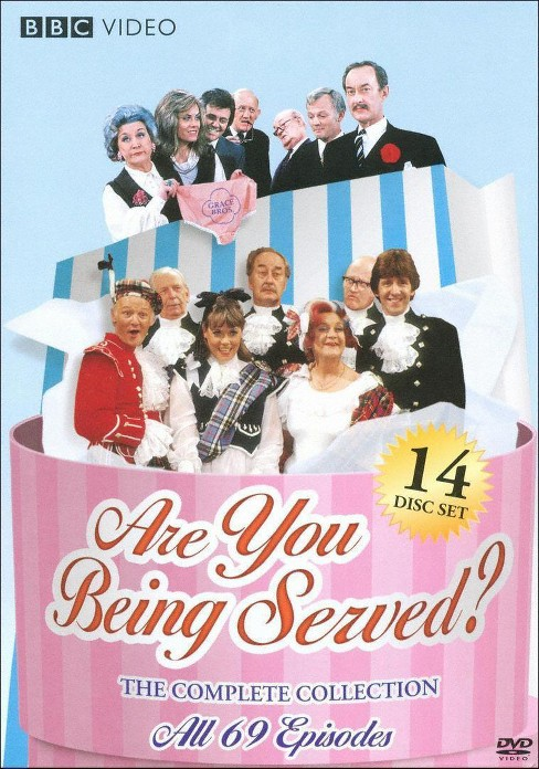 Are you being served:Comp collection (DVD) - image 1 of 1