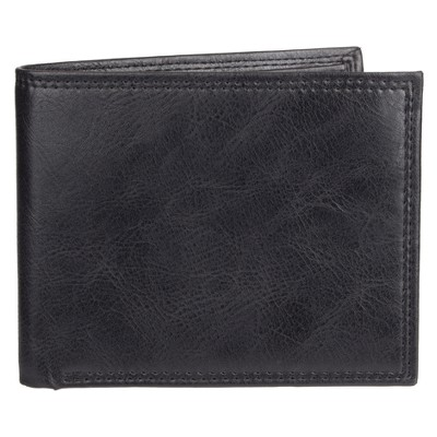 Men's Solid Wallet - Goodfellow & Co™ Black One Size