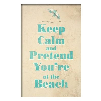 Art.com - Beach - Framed Print