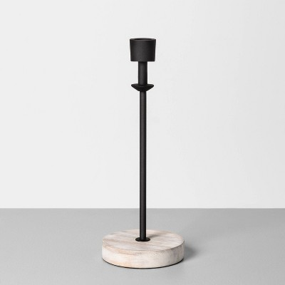 Wood & Metal Single Candle Holder - Hearth & Hand™ with Magnolia
