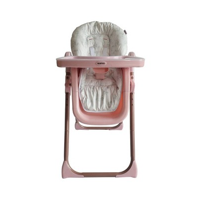 Your Babiie Mawma By Snooki Fitzrovia High Chair - Rose Gold/Marble