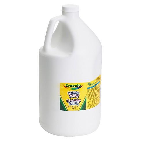 Crayola® Washable Paint 1gal White : Target