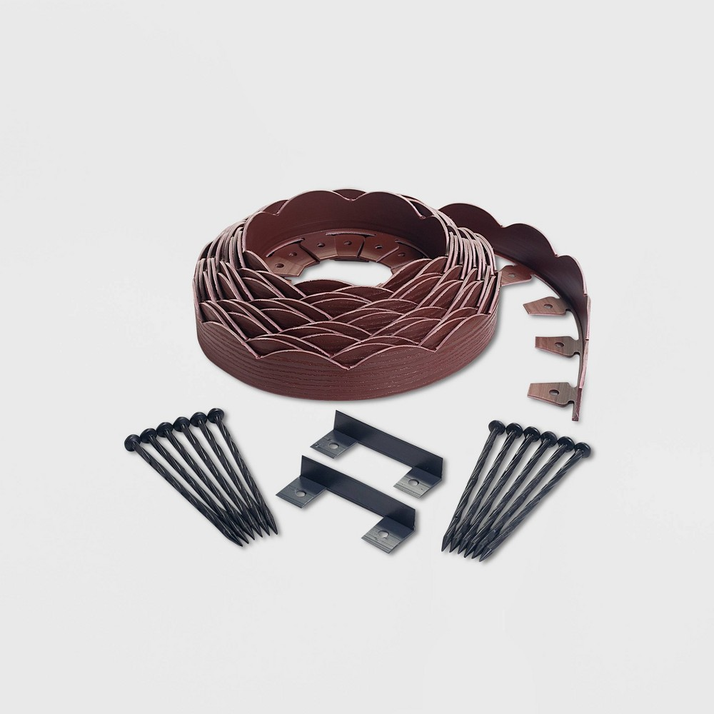 Image of 40' No-Dig Garden Edging Kit Red - EasyFlex