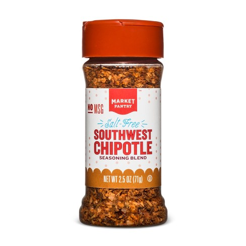 Salt Free Southwest Chipotle Seasoning Blend - 2.5oz - Market Pantry™ - image 1 of 1