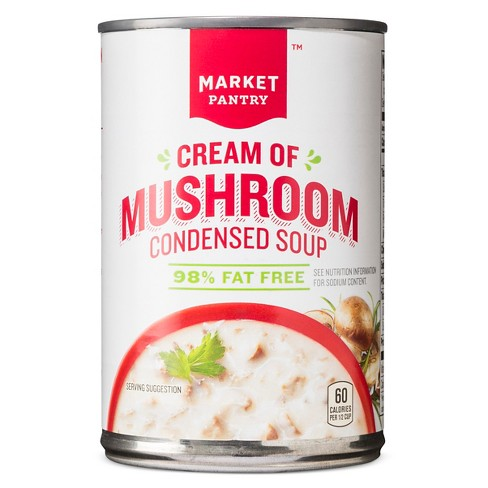 Cream of Mushroom Reduced Fat Condensed Soup 10.5oz - Market Pantry™ - image 1 of 1