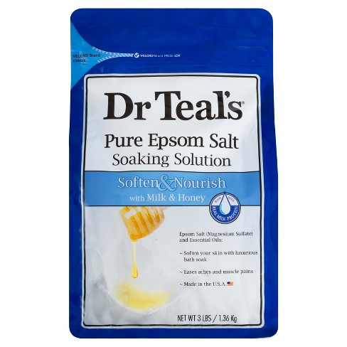 Dr Teal's® Milk & Honey Epsom Salt - 3lb - image 1 of 1