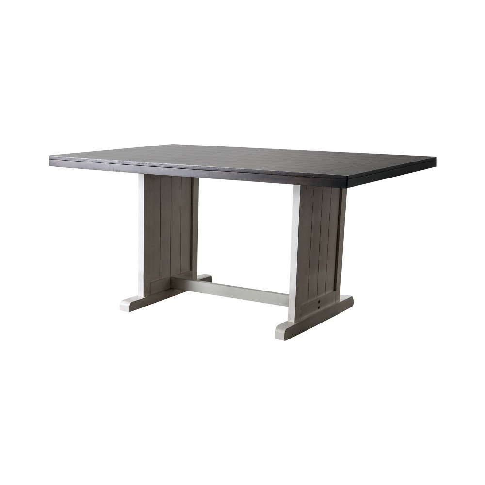 60 Fargo Rectangular Dining Table Espresso (Brown) - Sun & Pine