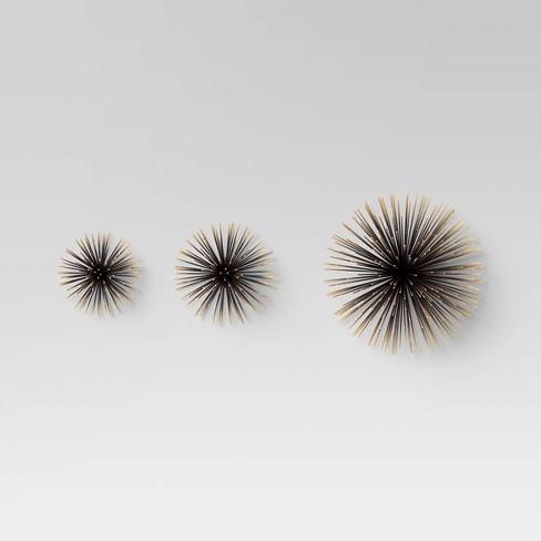 Sea Urchin Wall Décor Gold - Project 62™ - image 1 of 3