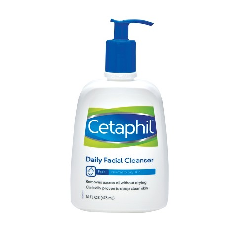Cetaphil Normal to Oily Skin Daily Facial Cleanser - 16oz - image 1 of 2