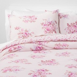 Bouquet Comforter Set Pink Blush - Simply Shabby Chic®