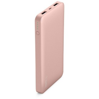 Belkin 10K mAh Pocket Power Portable Power Bank - Rose Gold