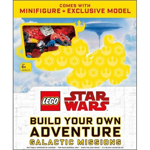 Lego Star Wars Build Your Own Adventure Galactic Missions - (Lego Build Your Own Adventure) - image 1 of 1